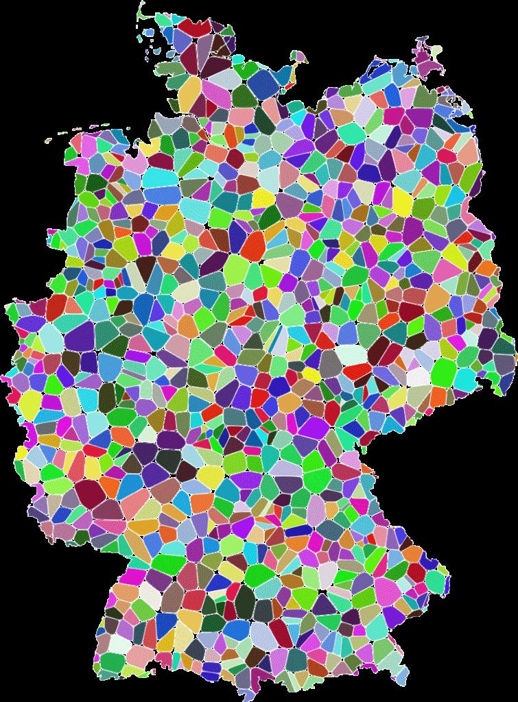 Karte Deutschland Städte